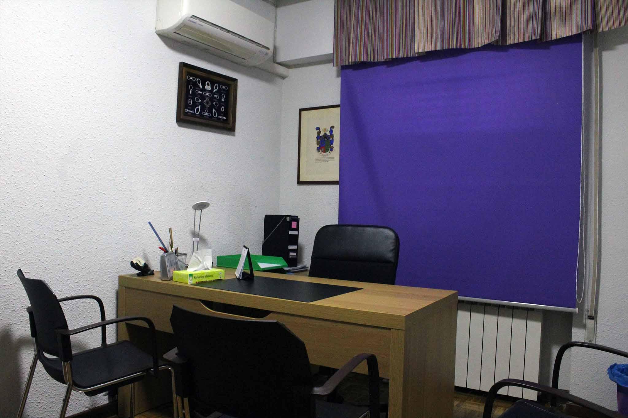 Sala de Psicología en Centro Amaype en Alcorcón (Madrid)